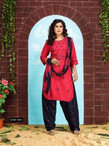 Fashion Talk PATIYALA STYLE VOL.1 Ready Made Suits ( 10 Pcs Catalog )   (1)