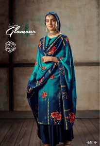 LEVISHA FEMINA VOL-8 PASHMINA WINTER DRESS MATERIAL ( 8 PCS CATALOG )