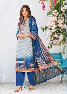 Wmm Lawm Cotton Pakistani Style Dress Material ( 10 Pcs Catalog )