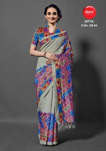 Apple Nitya Vol-1 Sarees (6 pc catalog)