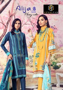 Keval Fab Alija B Vol-4 Heavy Cotton Printed Dress Material ( 6 Pcs Catalog )