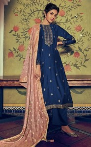 Varsha Samarqand Designer Dress Material ( 8 Pcs Catalog )