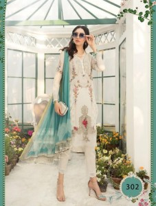 Kaara Suits M Print Vol-2 Cotton Pakistani Style Dress Material ( 8 Pcs Catalog )