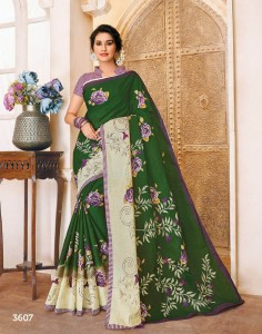 Deeptex Mother India Vol-36 Cotton Sarees ( 30 pc set )