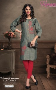 Kanasu Alia Cotton Kurtis ( 8 pcs Catalog )