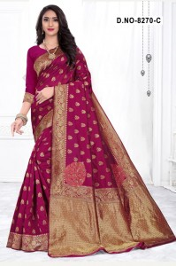 Kodas Melody 8270 Silk Sarees (4 pc catalog)