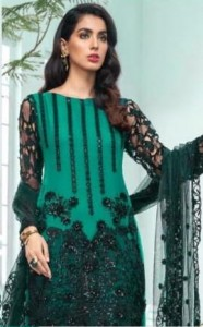 Ramsha Party Wear Embroidery Suits Letest Collections  (1)