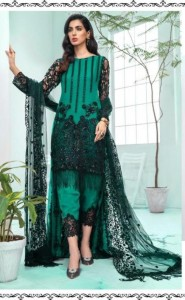 Ramsha Party Wear Embroidery Suits Letest Collections