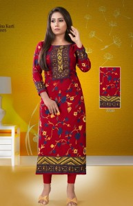 Pashmina Vol-1 Winter Collection Kurtis (10 Pcs Catalog)