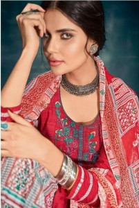 Deepsy Raahi Pure Bember Chiffon Party Wea Suits ( 3 Pcs Catalog )