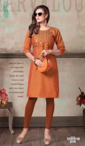 Kinti Mirror vol-2 Rayon Kurtis ( 12 pcs catalog )