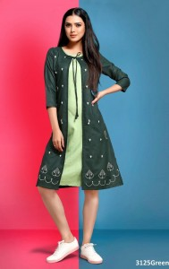 Moon Cotton Kurtis ( 6 pcs catalog )