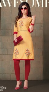 Kinti Poonam vol-4 Kurtis ( 12 pcs catalog )