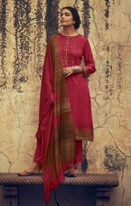 Varsha Mirah Designer Dress Material (8 pc catalog)