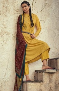 Varsha Nayaab Vol-2 Designer Dress Material (6 pc catalog)