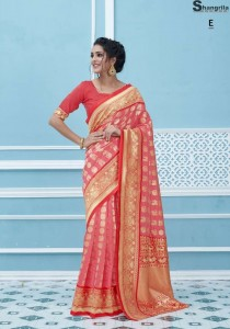 Shangrila Varnika Vol 2 Silk saree ( 6 Pcs Catalog )