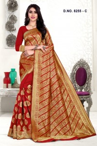 Bharat Creation Mousam-8255 Silk Saree ( 4 Pcs Catalog )
