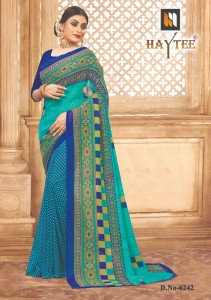 Haytee Splash-90 Sarees (12 pcs catalog )