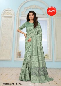 Silk Saree Apple Womaniya Vol-17 ( 12 Pcs Catalog )