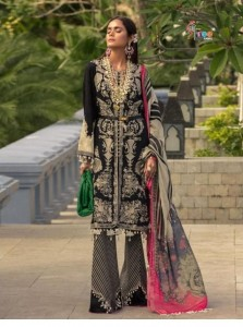 SHREE FAB SANA SAFINAZ PREMIUM LAWN COLLECTION VOL-2 DRESS MATERIAL