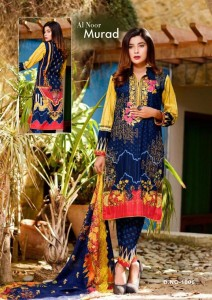 Al Noor Murad Cotton Dress Material ( 8 pc catalog )