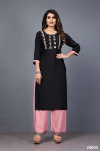 Mahek Vol-3 Kurti with Palazzo ( 6 Pc catalog )
