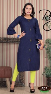 Trendy Mercy Rayon Kurtis ( 6 pcs catalog )