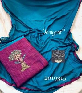 Handloom silk top, very fine handwork ( 4 Pcs Catalog )