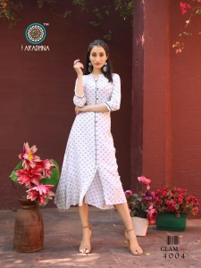 Aradhna Glam Girl Vol-4 Reyon Kurti ( 12 Pcs Catalog )