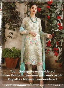 KHAYYIRA SANA SAFINAZ PARTY WEAR PAKISTANI STYLE SUITS ( 4 PCS CATALOGUE )