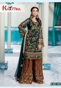 Khayyira Suits Lavanya Havy Party Wear Dress Material (  4 Pcs Catalogue )