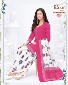 Balaji Cotton Kumkum Vol-24 Pure Cotton Dress Material (20 Pcs Catalog )
