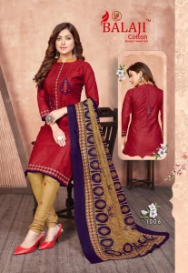 Balaji Hungama Vol-10 Puree Cotton Dress Material ( 16 Pcs Catalogue )