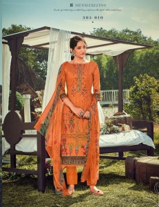 Zulfat Designer Suits Amelia Dress Material ( 10 Pcs Catalog )