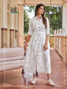 Blue Hills Summer Season Rayon Print Kurti ( 6 Pcs Catalogue )
