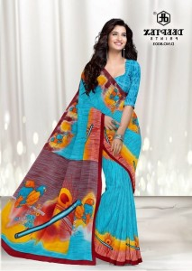 Deeptex Kalmkari Special Sarees VOL-9 Pure Cotton Sarees ( 20 pcs Catalogue )