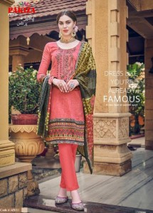 Pakiza Prints Vol-45 Kashmiri Heavy Neck Embroidery Dress Material ( 10 Pcs Catalog )