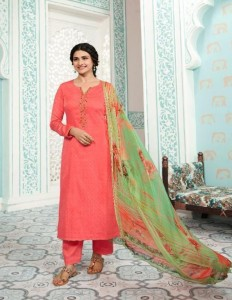 Vinay Fashion Kervin - Aarushi Dress Material ( 8 pc Catalog )