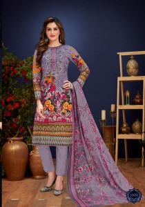 Kings Of Cotton Razia Vol-1 Cotton Dress Material ( 10 pcs Catalogue )