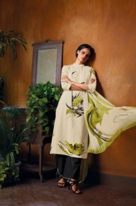 Ganga Ekiya Cotton Dress Material ( 6 pcs Catalogue )