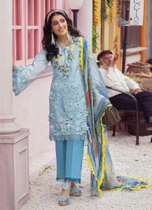 Shree Fab Mushq Premium Lawn Collection Dress Material ( 5 pcs Catalogue )
