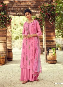 ZULFAT SIYAHI VOL-2 PURE COTTON WITH EMBROIDERY DRESS MATERIAL (  10 PCS CATALOG )