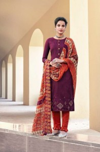 Suryajyoti Parizad Vol 1 Cotton Dress Material ( 8 pcs Catalogue )