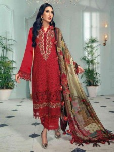 RINAZ ANAYA VOL-3 CAMBRIC COTTON PAKISTANI STYLE DRESS MATERIAL (  5 PCS CATALOG )