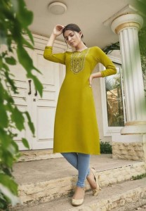 Kalaroop Lily Vol 19 Rayon Kurti ( 8 pcs Catalogue )