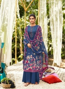 ZULFAT DEIGNER  ANANYA COTTON WITH EMBROIDERY DRESS MATERIAL ( 10 PCS CATALOG )