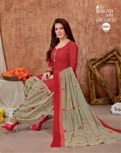 BALAJI CHULBULI VOL-3 PURE COTTON DRESS MATERIAL  ( 12 PCS CATALOG )