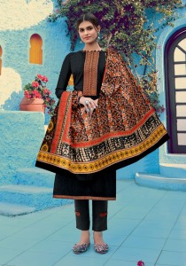 VASTU TEX IKKAT PATOLA VOL-2 PURE LAWN WITH EMBROIDERY WORK DRESS MATERIAL ( 10 PCS CATALOG )