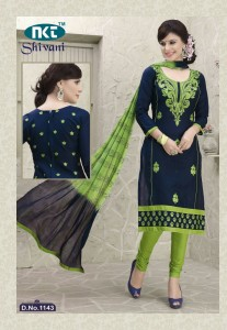 Nkt Shivani Cambric Cotton Suits (10 pc Catalog)