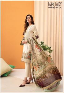 FAIR LADY IRIS HIT DESIGN VOL-2 PURE PAKISTANI EMBROIDERY  SUIT ( 5 PCS CATALOG )